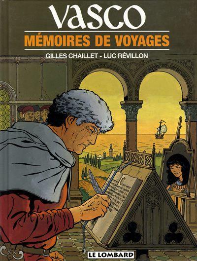 Couverture de Vasco -16- Mémoires de voyages