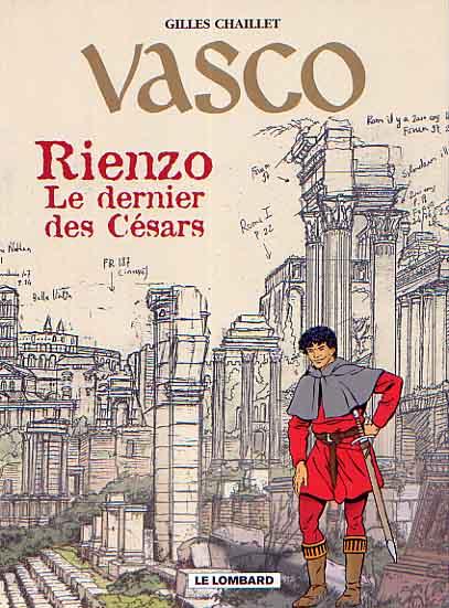 Couverture de Vasco -HS- Rienzo, le dernier des césars