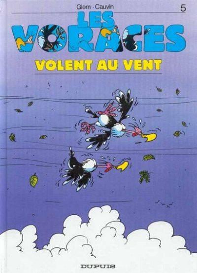 Couverture de Les voraces -5- Les voraces volent au vent