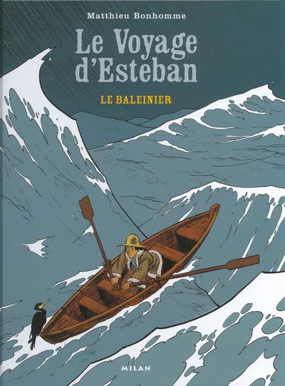Couverture de Esteban -1- Le Baleinier