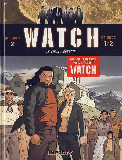 Couverture de Watch -3- La Terre Sacrée