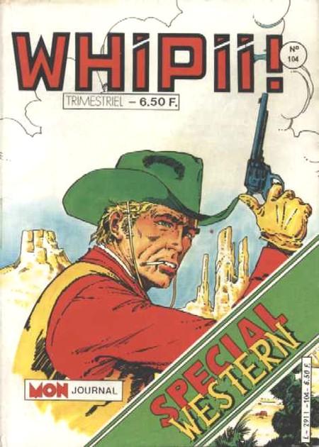 Couverture de Whipii ! (Panter Black, Whipee ! puis) -104- Numéro 104