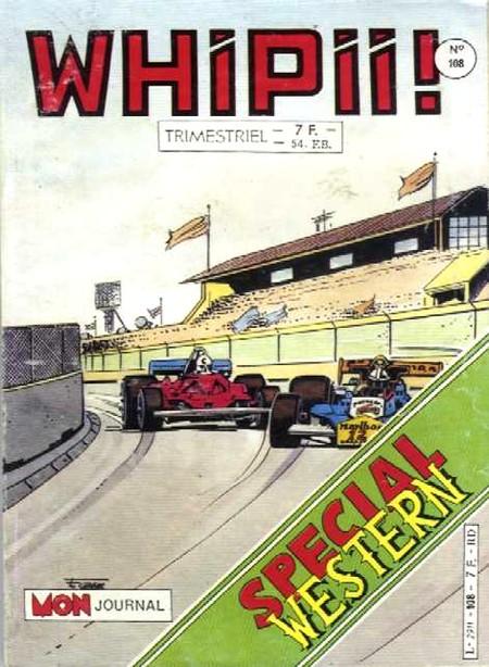 Couverture de Whipii ! (Panter Black, Whipee ! puis) -108- Numéro 108