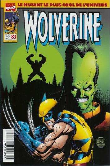 Couverture de Wolverine (Marvel France 1re série) (1997) -83- Premières armes