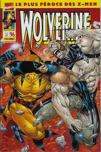 Couverture de Wolverine (Marvel France 1re série) (1997) -96- Wolverine 96
