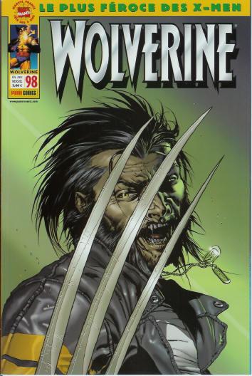 Couverture de Wolverine (Marvel France 1re série) (1997) -98- Wolverine 98