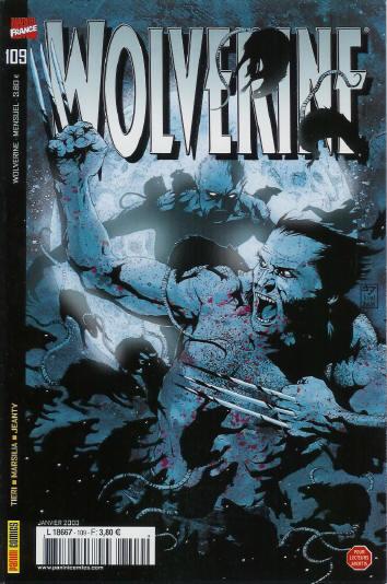 Couverture de Wolverine (Marvel France 1re série) (1997) -109- La montre