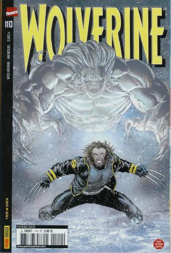 Couverture de Wolverine (Marvel France 1re série) (1997) -110- Survivre