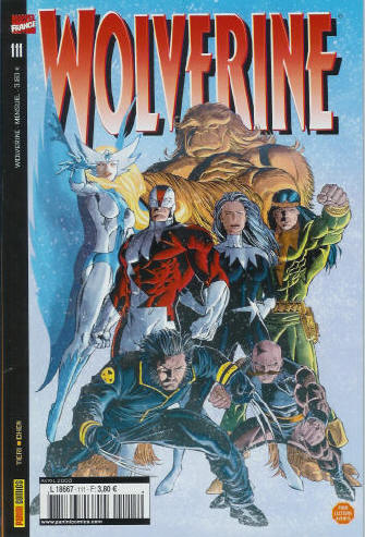 Couverture de Wolverine (Marvel France 1re série) (1997) -111- Les fichiers Logan