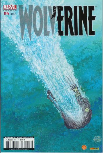 Couverture de Wolverine (Marvel France 1re série) (1997) -114- La chaire fantôme