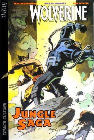 Couverture de Wolverine (Comics Culture) -1- Jungle Saga