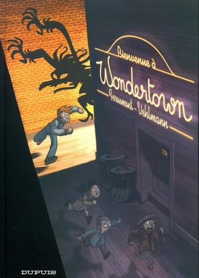 Couverture de Wondertown -1- Bienvenue à Wondertown