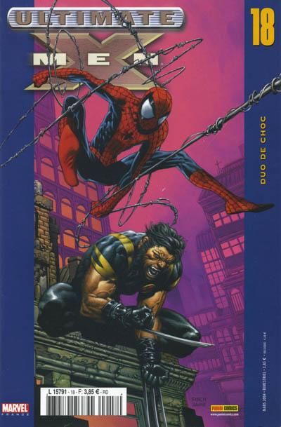 Couverture de Ultimate X-Men -18- Duo de choc