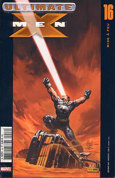Couverture de Ultimate X-Men -16- Mise à feu