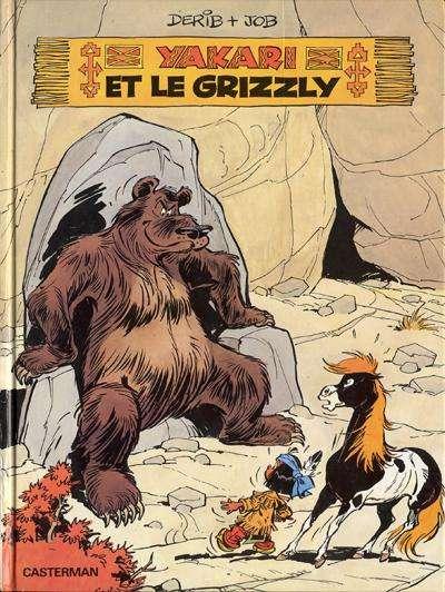 Couverture de Yakari -5- Yakari et le grizzly