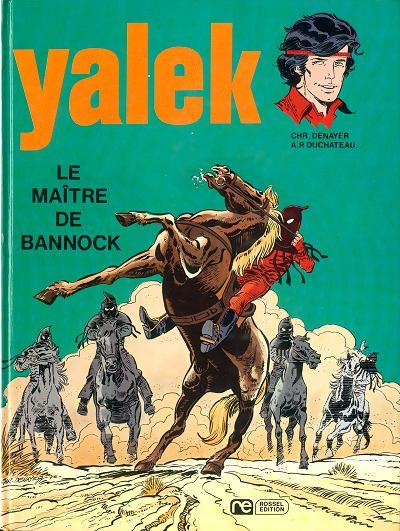 Couverture de Yalek -7- Le maître de Bannock