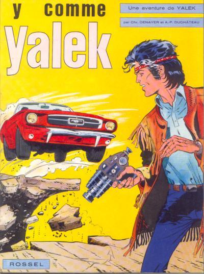 Couverture de Yalek -1- Y comme Yalek