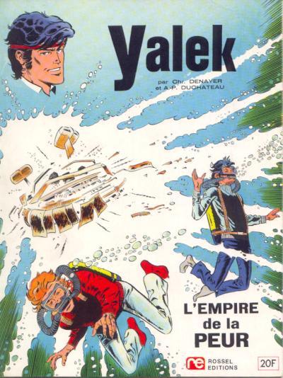 Couverture de Yalek -3- L'empire de la peur