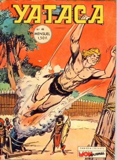 Couverture de Yataca (Fils-du-Soleil) -46- Le cirque de l'épouvante