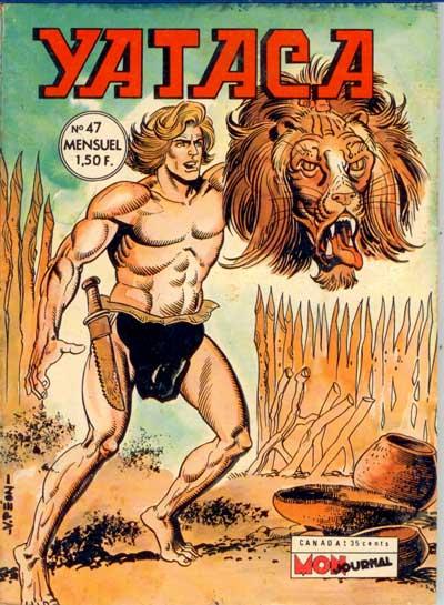 Couverture de Yataca (Fils-du-Soleil) -47- Le lion fou