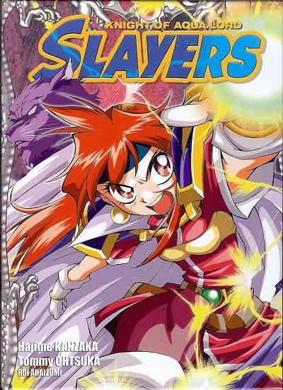 Slayers The Knight of Aqua Lord Tome 1 - Hajime Kanzaka