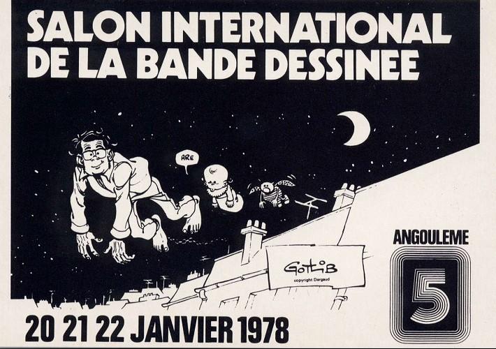 Gotlib para bd for Salon de la bd angouleme