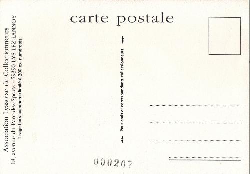 Face de lune carte - Code postale lys lez lannoy ...