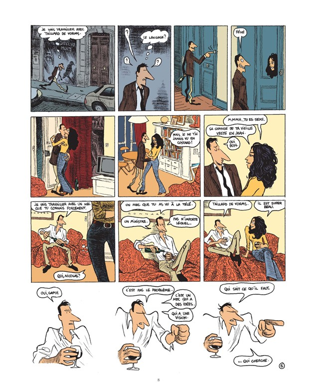 bande dessinee quai d'orsay tome 2