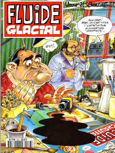 Souvent Recueil) Fluide Glacial (L'album) - BD, informations, cotes ZN11