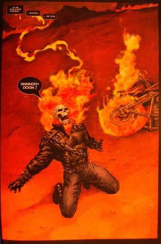 Ghost rider 100 marvel bd informations cotes - Dessin de ghost rider ...