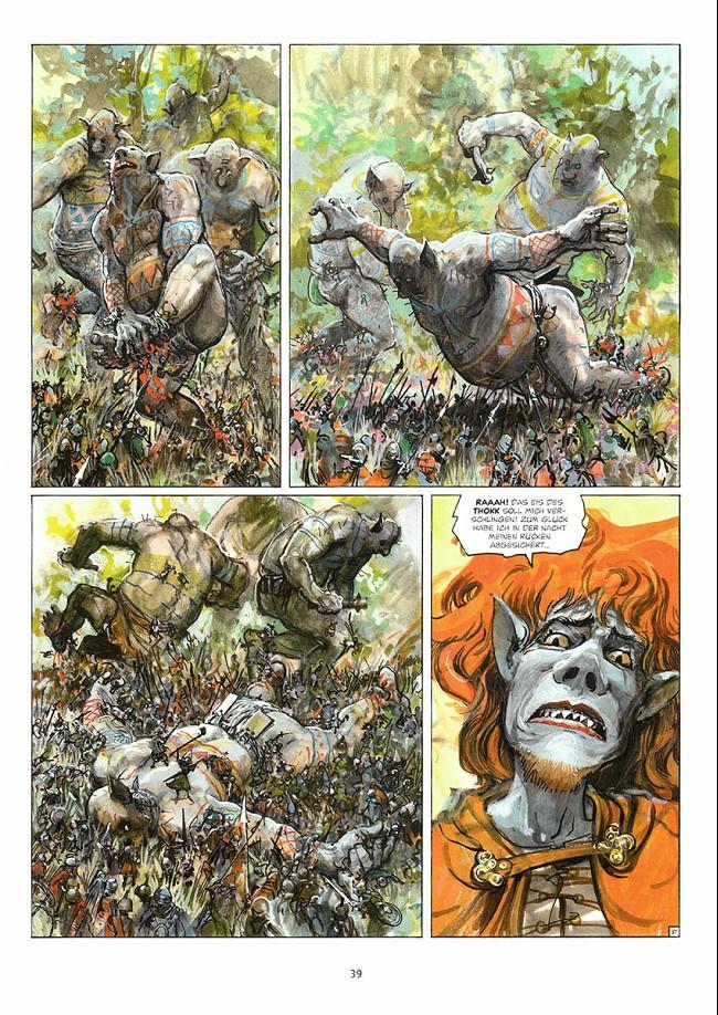 Thorgal (en allemand) -32- Die schlacht von Asgard