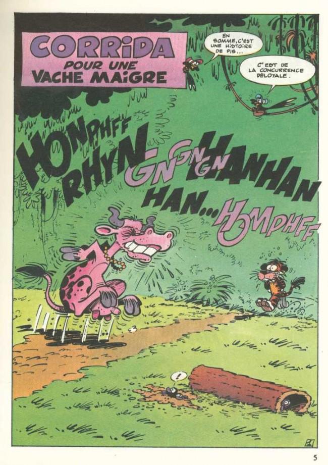 La jungle en folie 16 22 353 corrida pour une vache maigre - Vache en folie ...