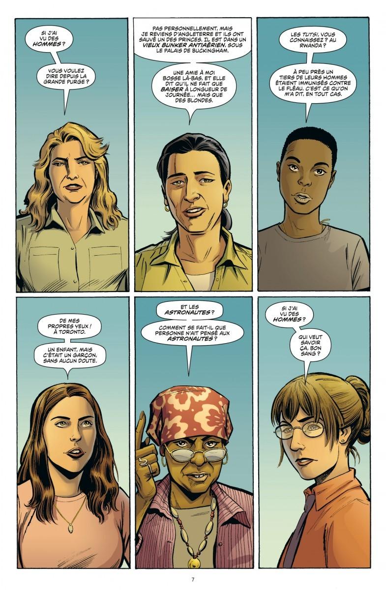 Extrait de Y le dernier homme (Urban Comics) -4- Volume IV ...