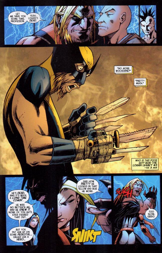 Extrait De Death Of Wolverine The Logan Legacy 2014 1 Issue