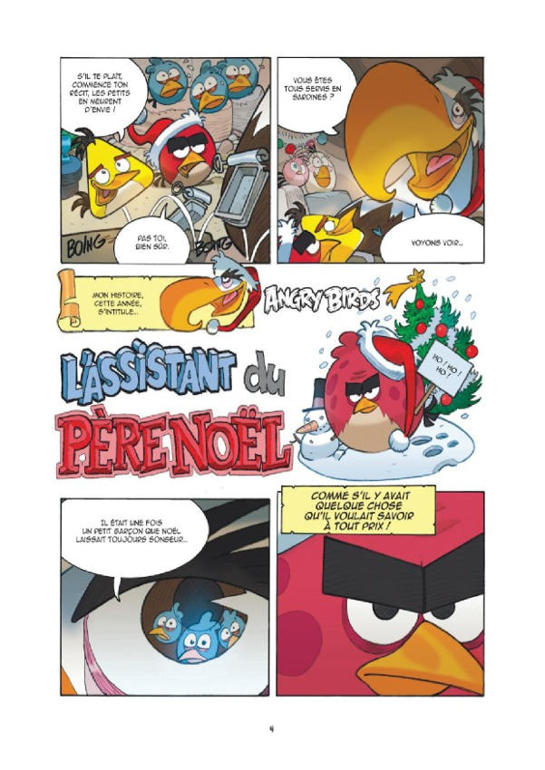 Angry birds 3 petit papa t rence - Angry birds noel ...
