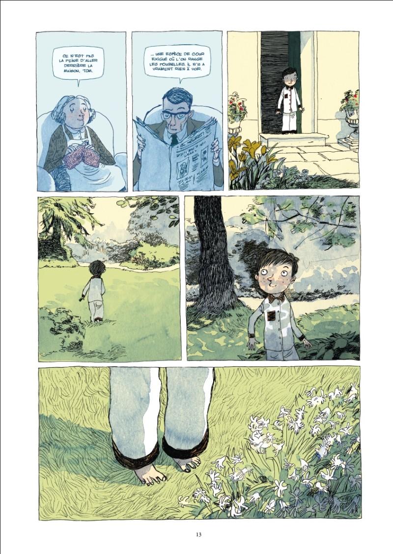 Le jardin de minuit bd informations cotes for Le jardin de domont