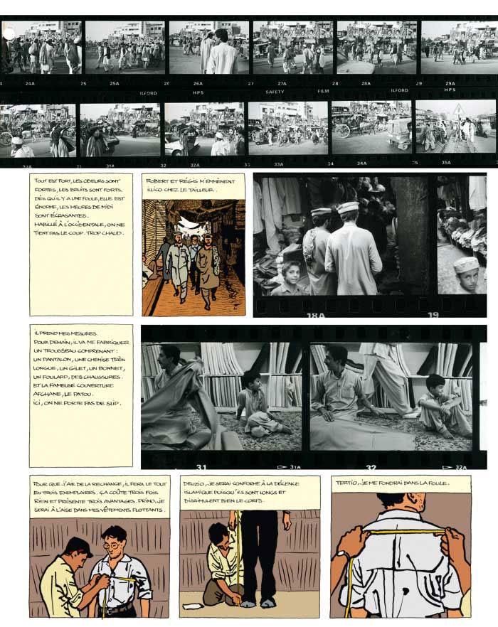 """Résultat de recherche d'images pour """"extrait de le photographe guibert"""""""