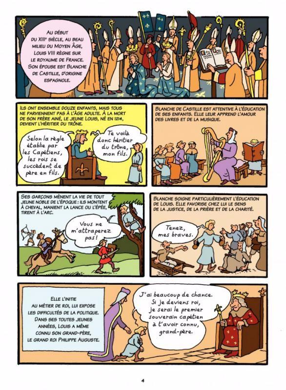 L Histoire De France En Bd Joly Heitz 6 Saint Louis