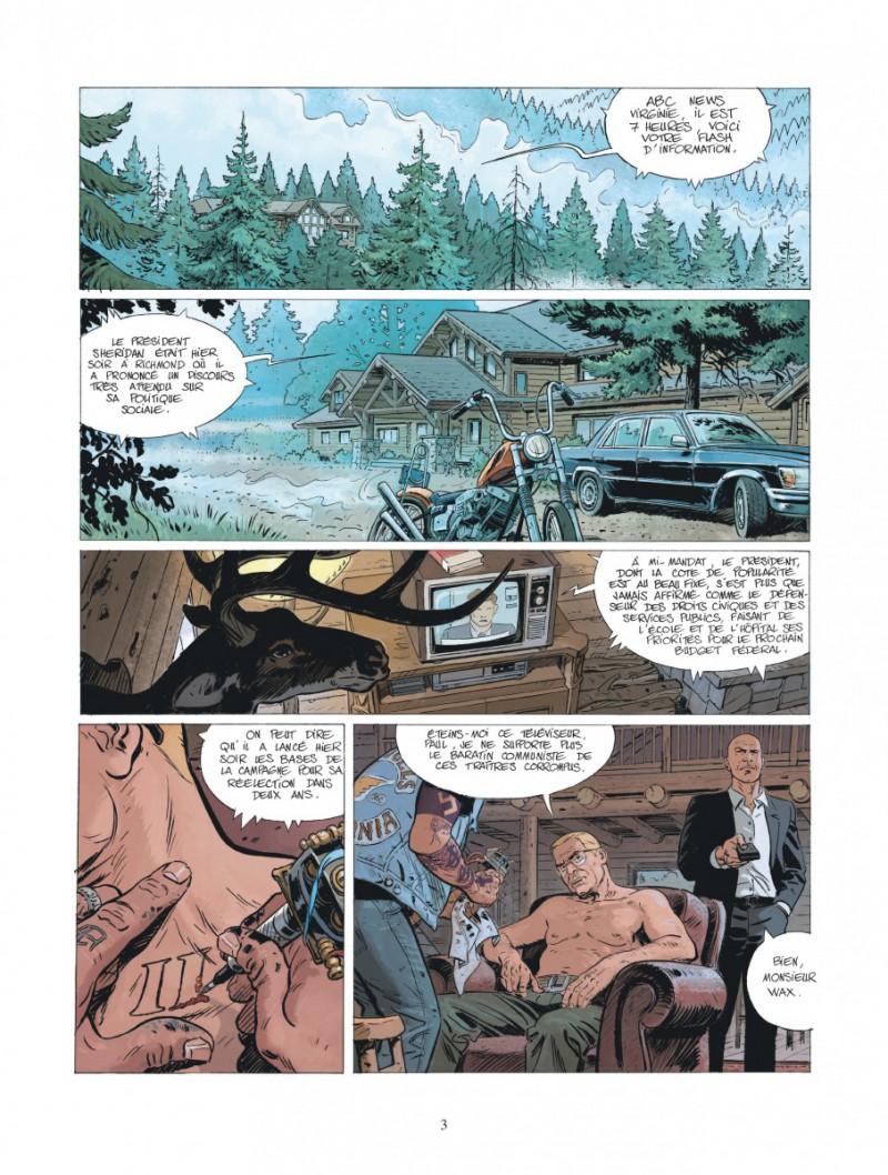... Extrait de XIII Mystery -10- Calvin Wax ...