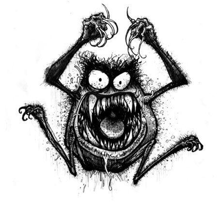 Aut franquin 12tl les monstres de franquin 2 - Dessins monstres ...