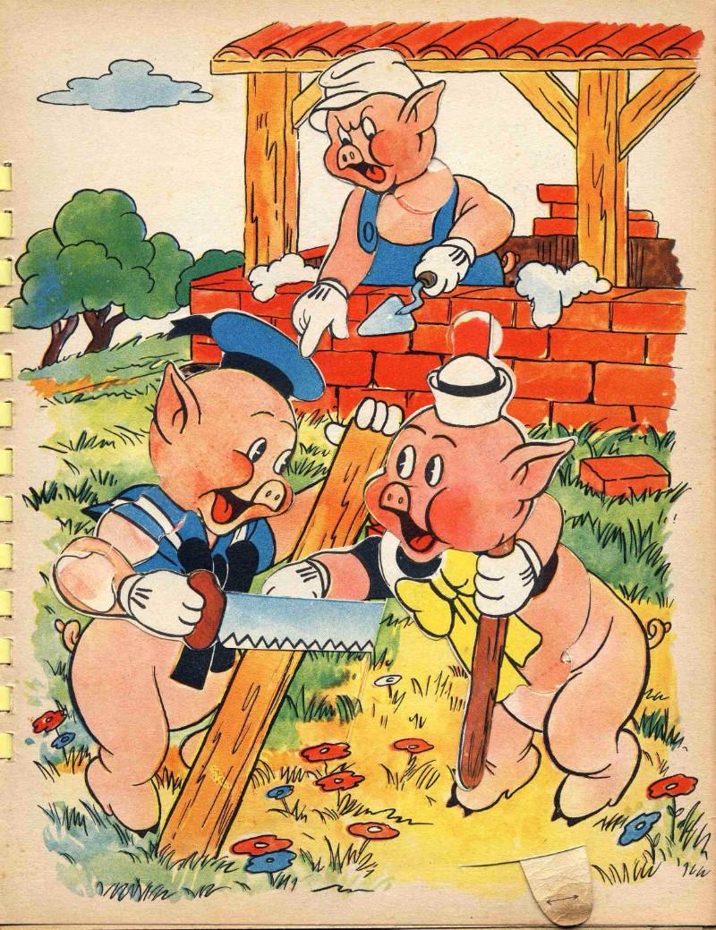 Résultats de recherche d'images pour «3 petits cochons»