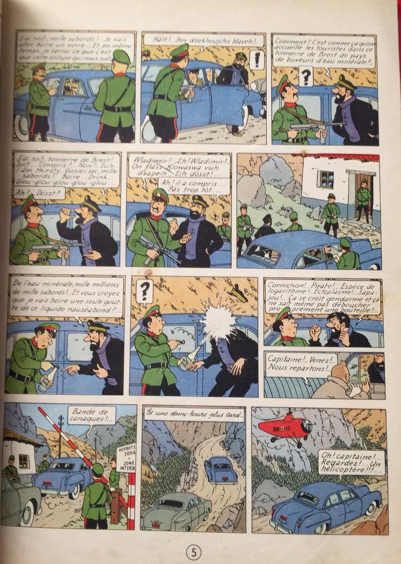 Favori Tintin - Pastiches, parodies & pirates - BD, informations, cotes  HA04