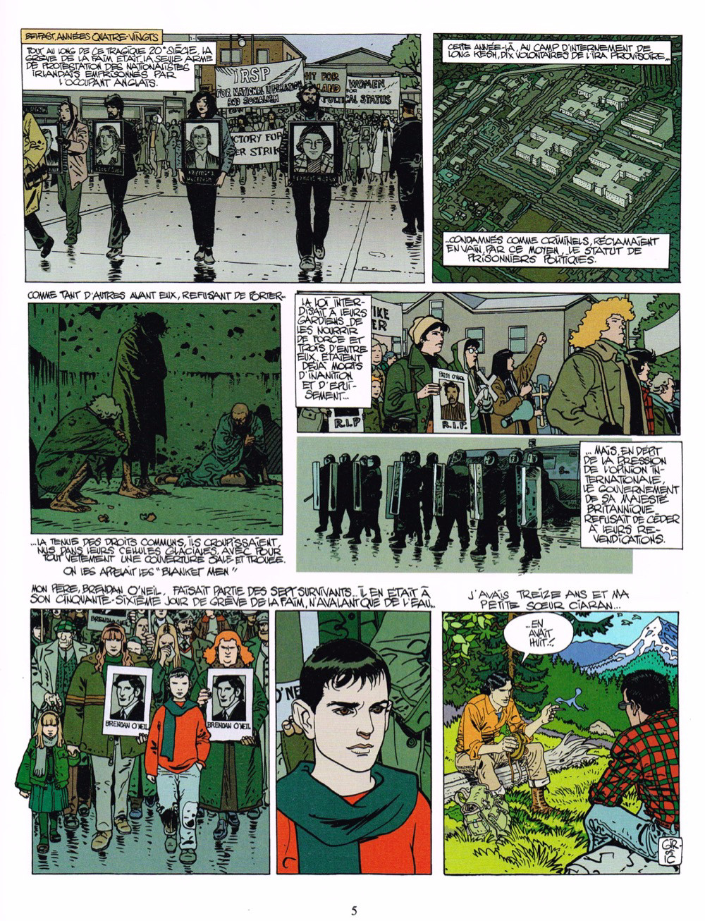 ... Extrait de XIII -18b17- La version irlandaise ...