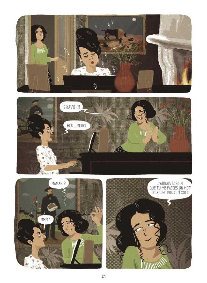 Ectasy & me, la folle autobiographie d'Hedy Lamarr PlancheA_345261