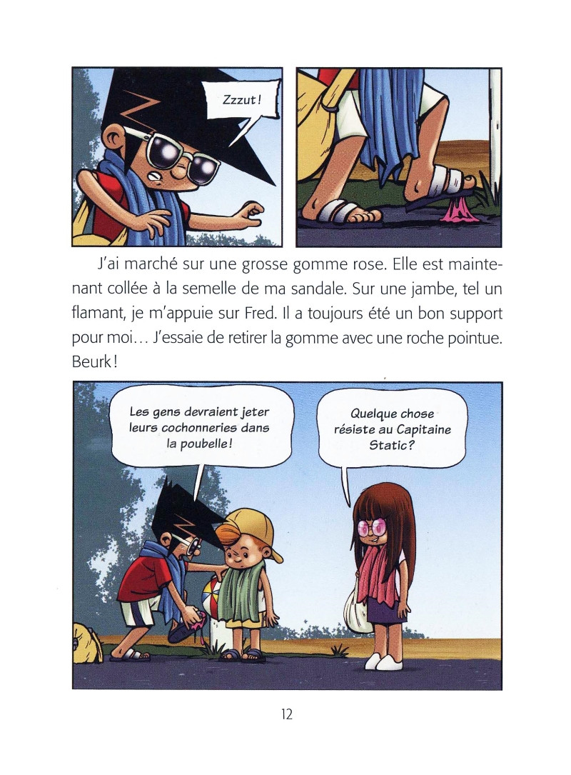 Capitaine Static - BD, informations, cotes