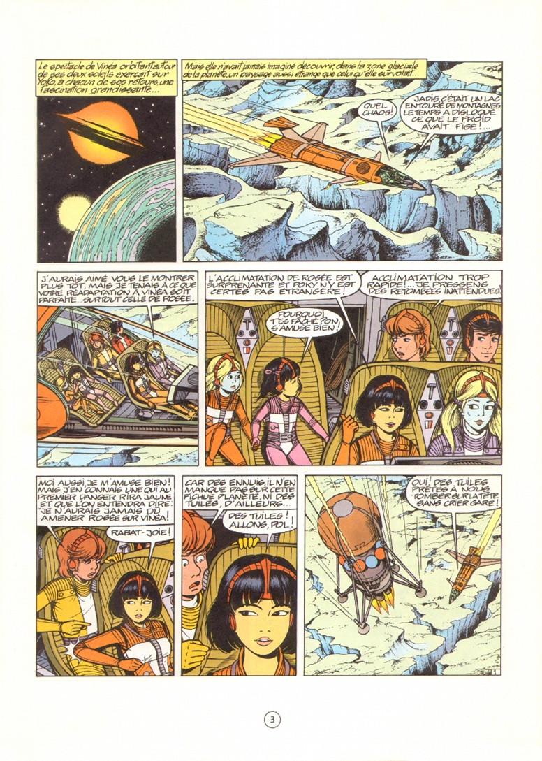 Yoko Tsuno 18 Les Exiles De Kifa