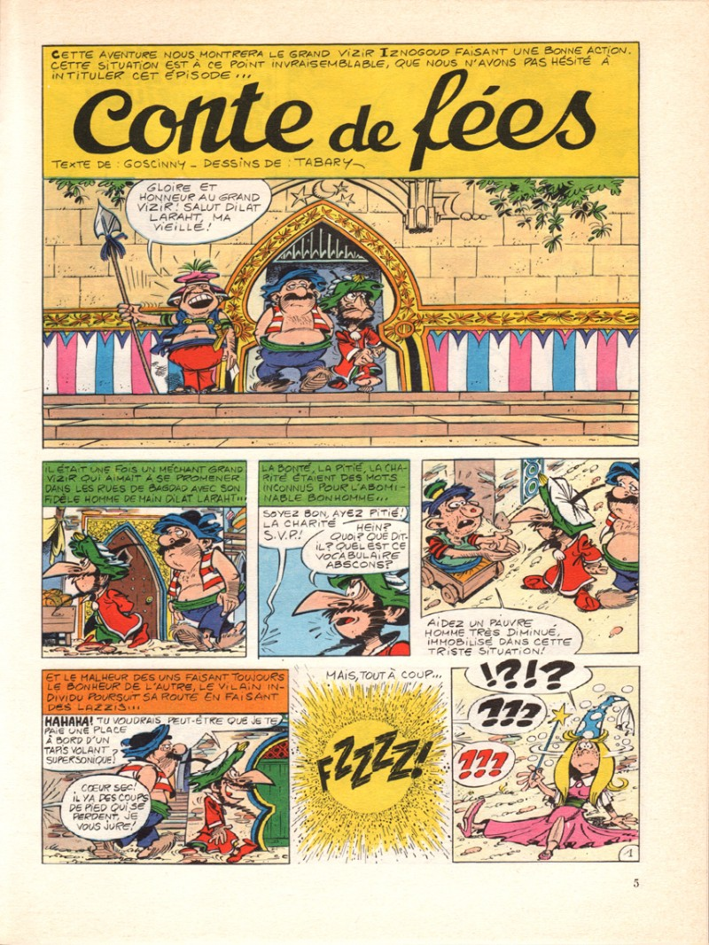 iznogoud tome 12 le conte de fees diznogoud