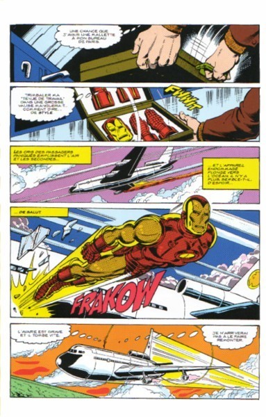 bande dessinee iron man