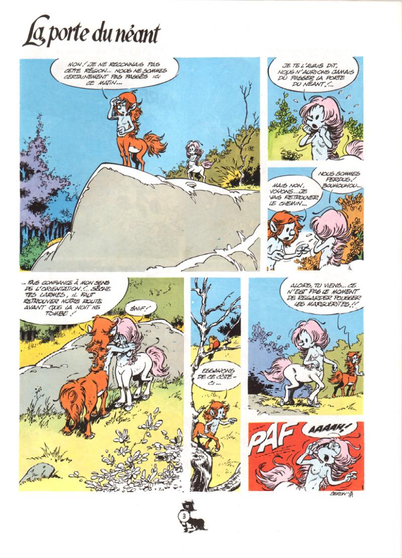 ... Extrait de Les centaures (Desberg/Seron) -1- La porte du néant ...