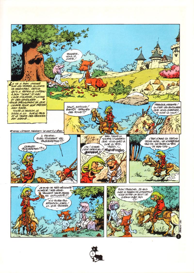 ... Extrait de Les centaures (Desberg/Seron) -3- L'odyssée ...